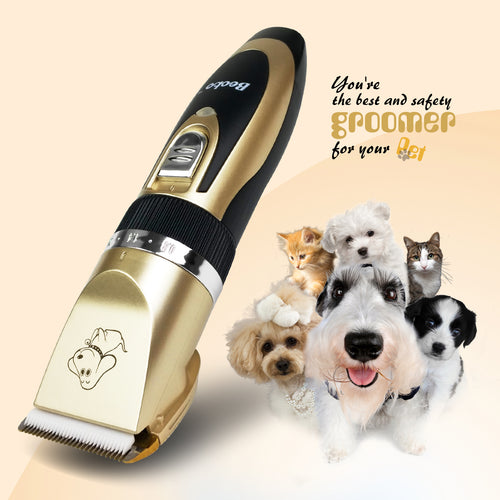 Cordless Pet Hair Clippers
