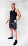 Kheper Men's Shorts - Coal Grey