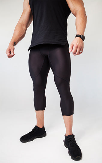Kheper Pro Fit Tights Large - Black