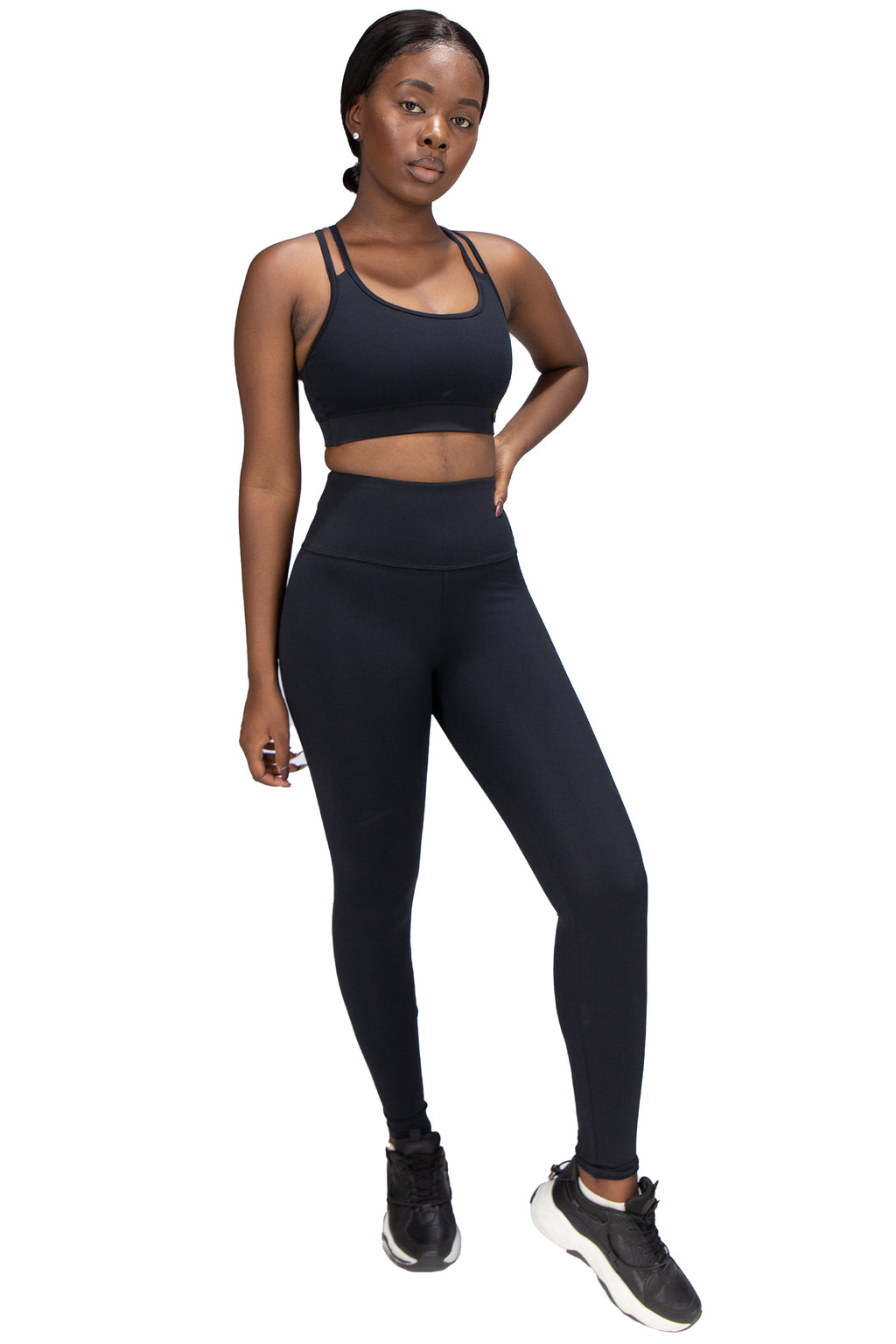 VPOP - Black Leggings NXT Fabric