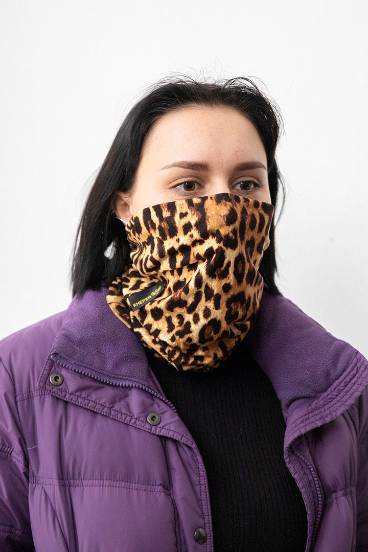 Face Buff Kheper Animal Print