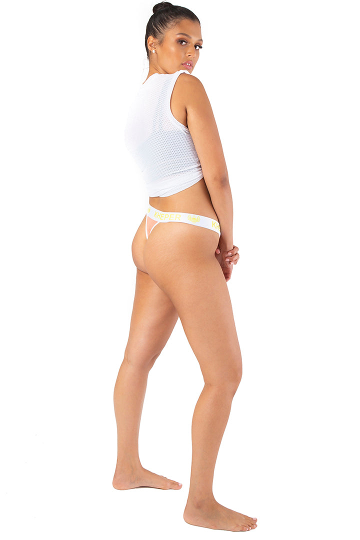 Kheper Bamboo Ladies Thong Peachy