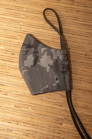 Face Mask Cotton Reusable Washable 100% Cotton Pixel Camo