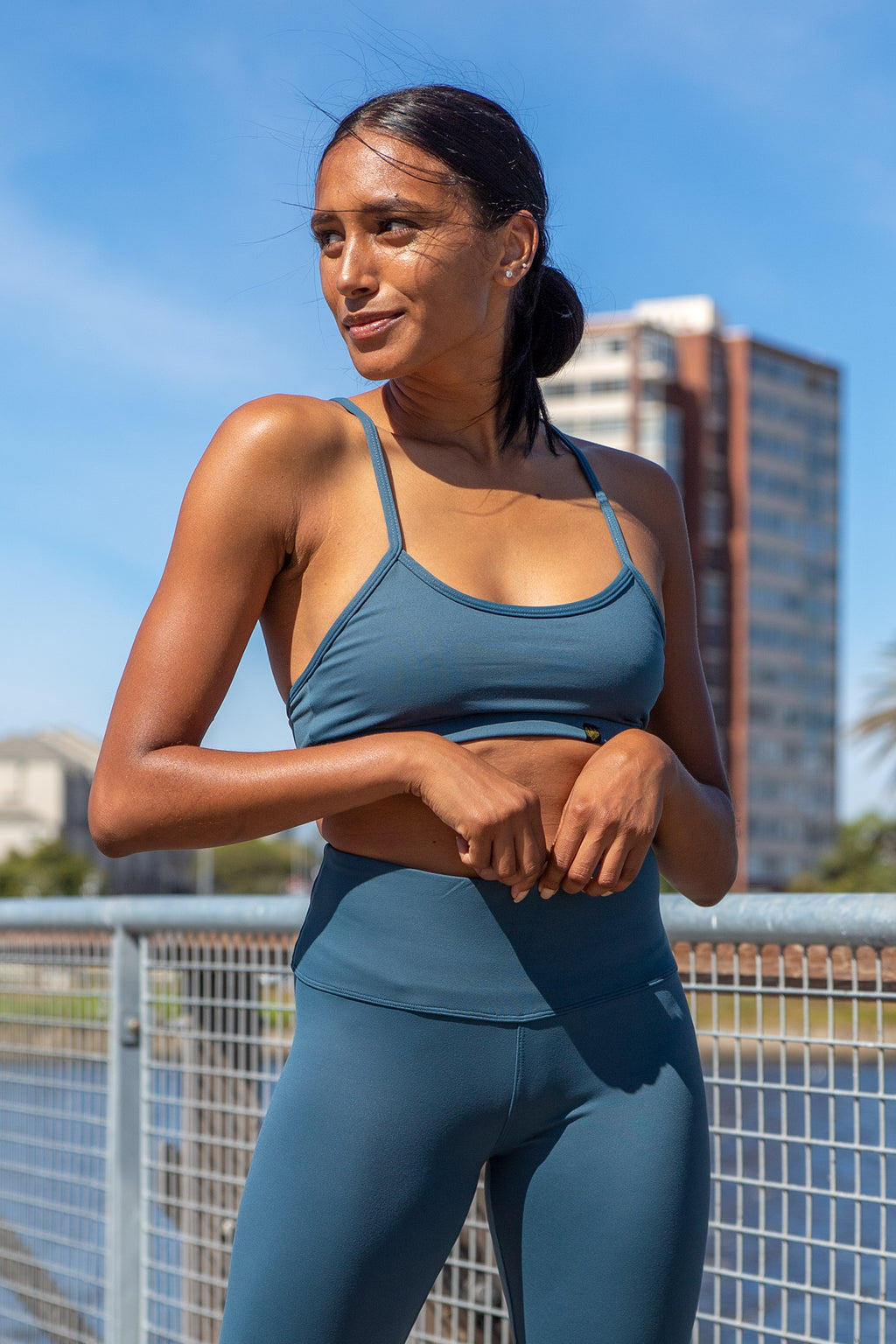 Kheper Hybrid Sports Bra - Blueberry