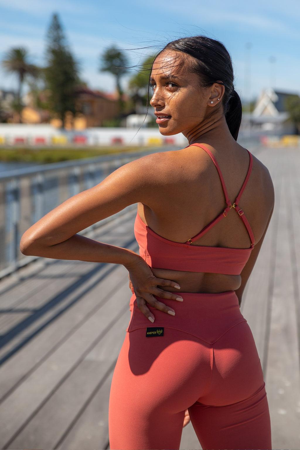 Kheper Hybrid Sports Bra - Punch