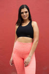 Soho Gym Tights - Limited Edition Coral Orange