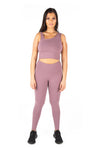 V POP High Waisted Tights - Lavender