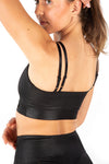 Kheper Black Shine Bra