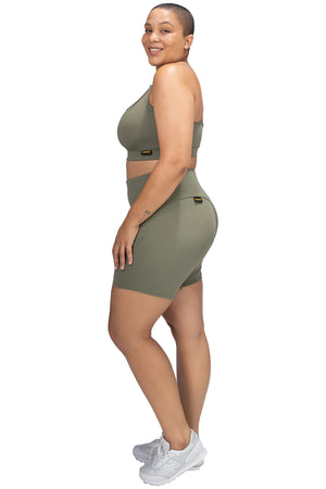VPOP Live Shorts - Olive in NXT Fabric