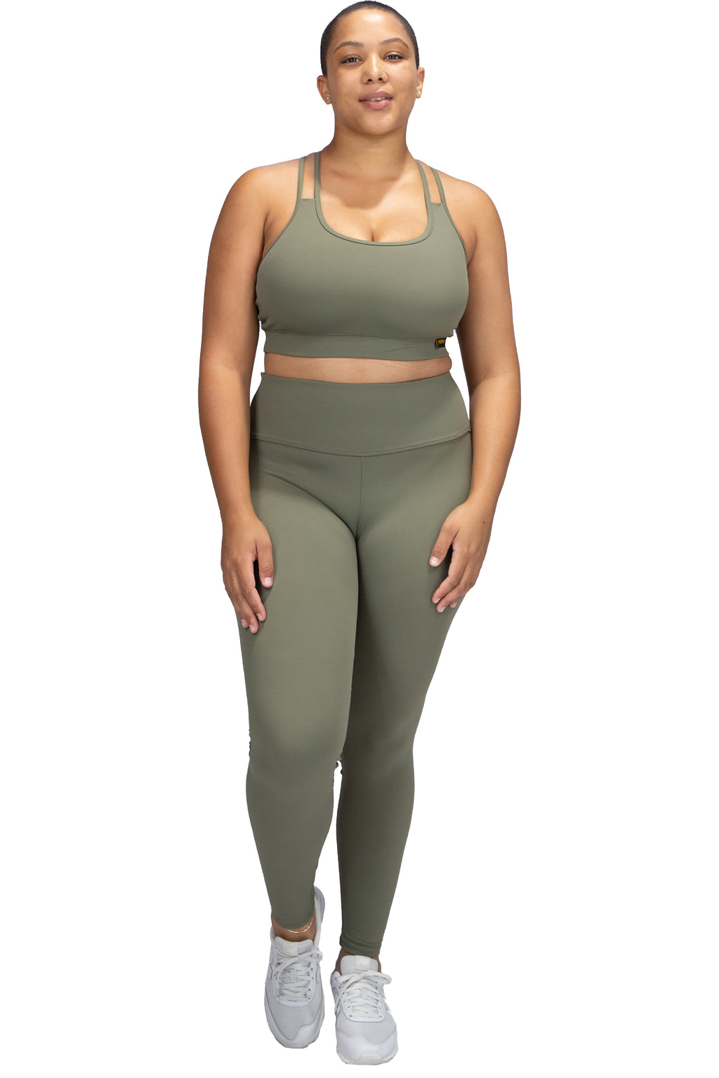 VPOP - Olive Leggings NXT Fabric