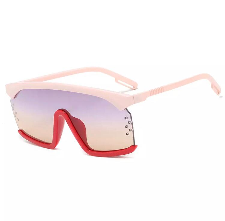 Junette Sunnies - Red/ Pink