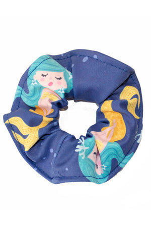 Mermaid Smiles Kids Scrunchie