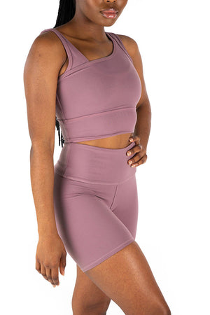 Kheper V Pop Ladies Shorts - Lavender
