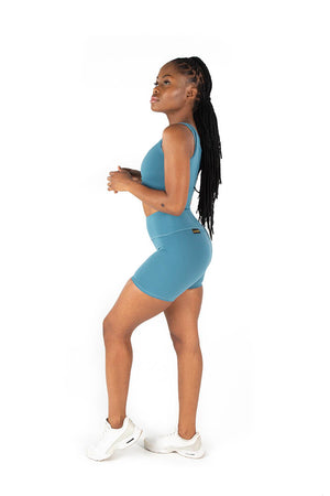 Kheper V Pop Ladies Shorts - Periwinkle