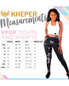 Kheper V Pop LuxeLush High Waist Tights Size Guide