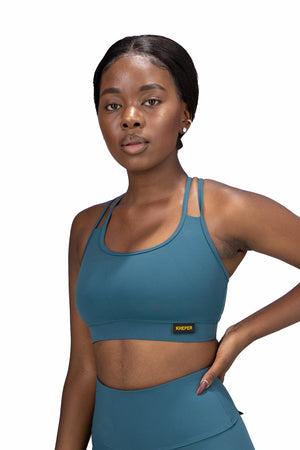 Live Bra - Teal NXT Fabric