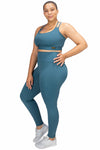 VPOP - Teal Leggings NXT Fabric