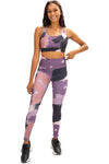 Abstract Print Gym Leggings