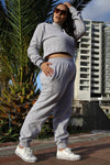 KK Track Pants - Grey Melange