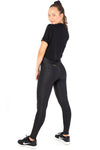 Ladies Gym Tights V POP Black Jag Kheper