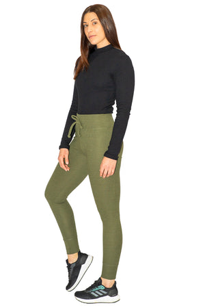 Womans Jogger Hey Johnny - Khaki