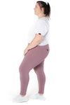 Kheper V Pop High Waisted Gym Tights - Lavender