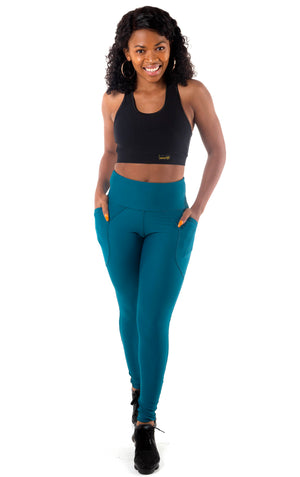 Kheper Pocket Tights - Teal