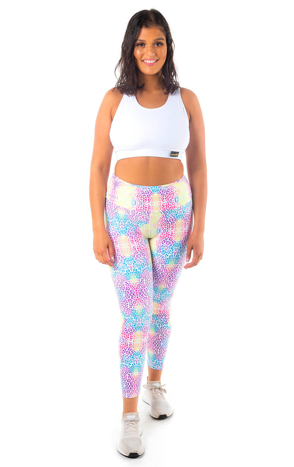 Kheper Print High Waist Gym Tights - Tenacious | Limited Edition