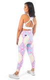Kheper Printed High Waist Gym Tights - Tenacious