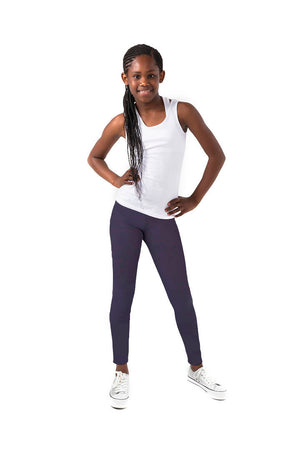 Kheper Navy LuxeLush Kids Leggings