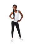 Kheper Black LuxeLush Kids Leggings