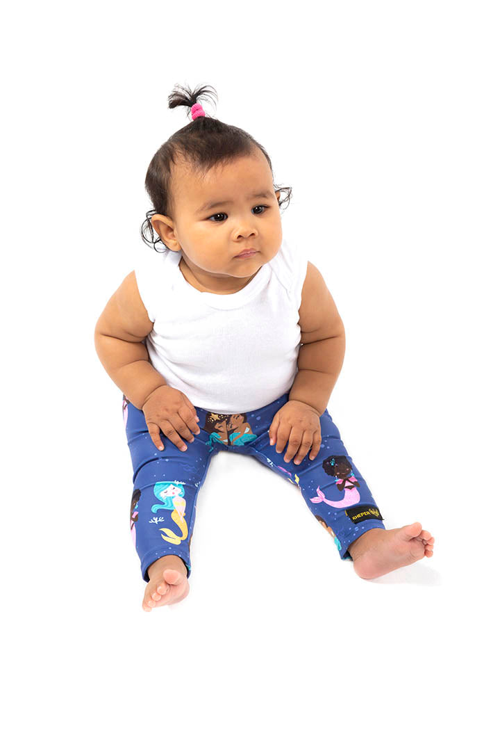 Kheper Mermaid Smiles Kids Leggings