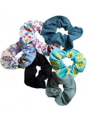 Kids Scrunchies Assorted 6 Pack