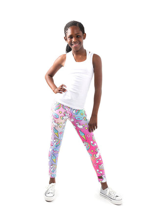 Kheper Pink Dreams Kids Leggings