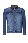 BLUE DENIM JACKET - NOIR | LDN