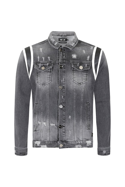 Denim-Leather-Panel-Jacket