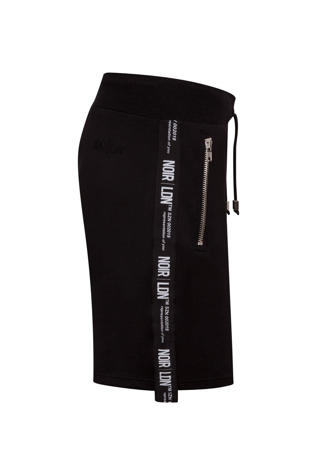 BLACK TWINSET SHORT - NOIR | LDN