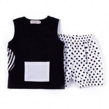 Twin Piece Shorties and Vest Top
