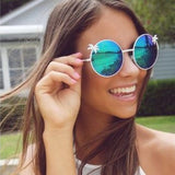 Round Palm Tree Sunglasses