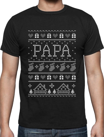 Grandpa Papa Christmas Shirt