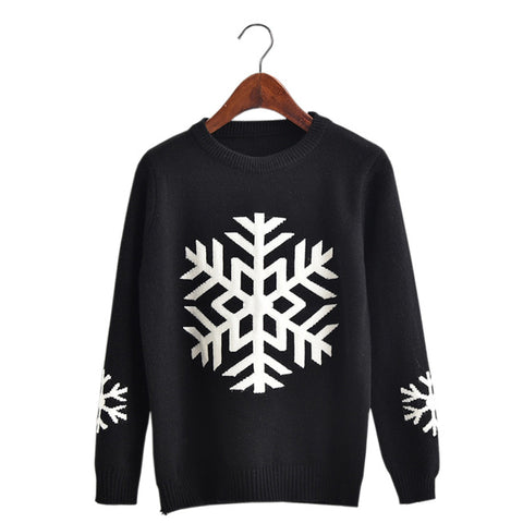 Snowflake Woman Christmas Sweater
