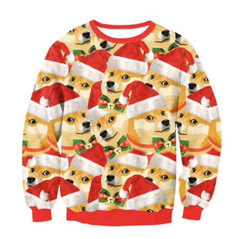 Funny Dog Christmas Sweatshirt