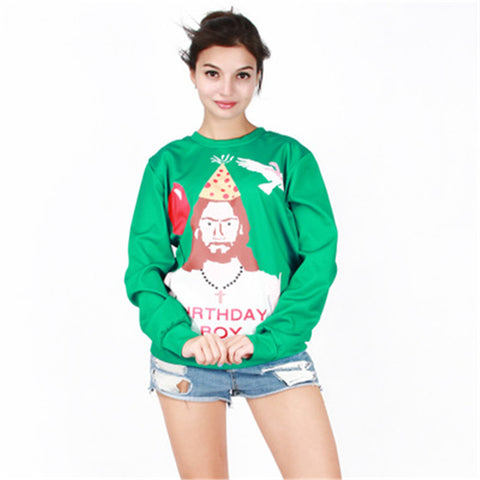 Ugly Christmas Sweater - Birthday Boy