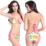 Pastel Color swatch Two Piece Bikini