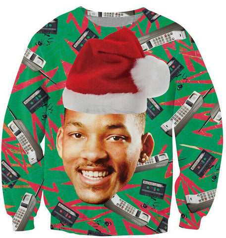 Fresh Prince Christmas Sweatshirt