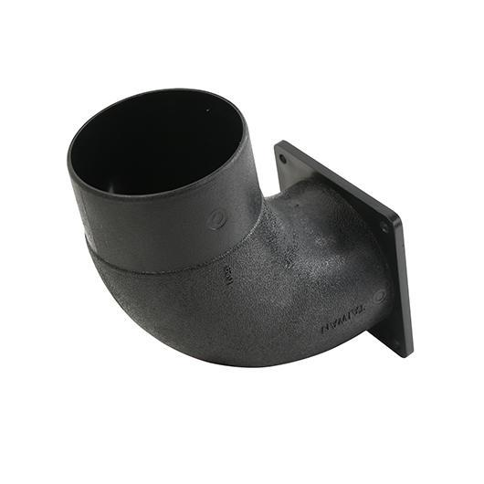 "4-5/8"" FLANGE MOUNT ELBOW"