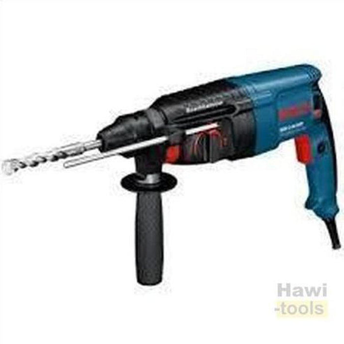 BOSCH GBH 2 - 26 DRE + 12 bits set SDS Plus Combination Hammers-BOSCH PT-Hawi tools-هاوي عدد
