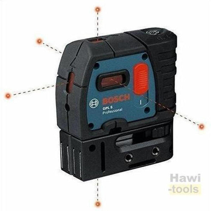 BOSCH GPL 5 Point Laser Levels-BOSCH PT-Hawi tools-هاوي عدد