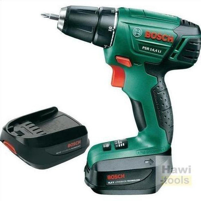 BOSCH Lithium-ion Cordless Two-speed Drill/Driver PSR 18 LI-2 (Without battery pack and charger)دريل كهربائي 2 سرعات بطاريه-BOSCH PT-Hawi tools-هاوي عدد