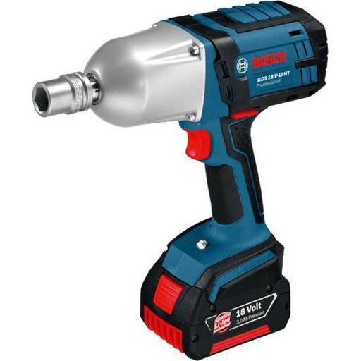 Cordless Impact Wrench GDS 18 V-LI HT Professional بدون بطاريات او شاحن-Impact Wrenches / مفك صواميل كهربائى-BOSCH Tool select-Hawi tools-هاوي عدد